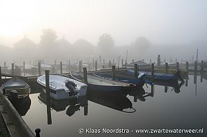 Klaas Noordstra - april 2009 - Boten in de mist 1